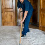combing carpet